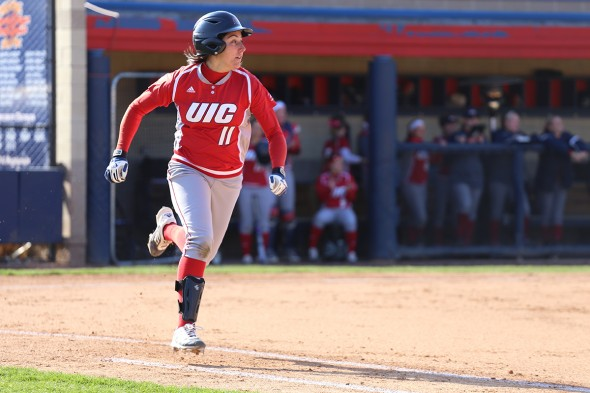 UIC softball: Courtney Heeley