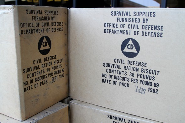 Civil Defense survival rations