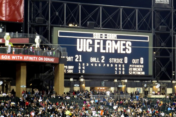 UIC Appreciation Night at U.S. Cellular Field, Chicago White Sox