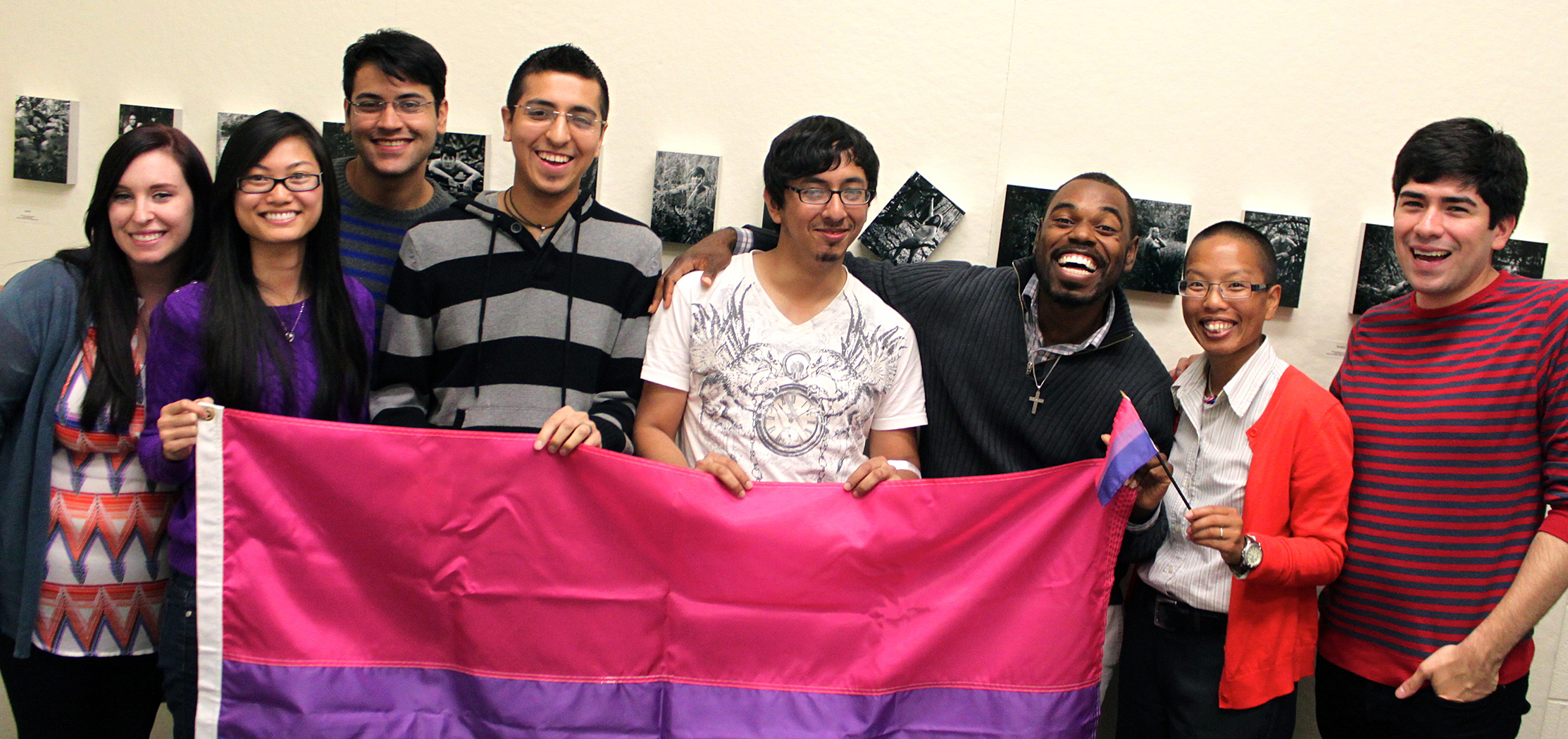 UIC Gender and Sexuality Center staff, students