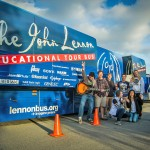 The John Lennon Educational Tour Bus in Las Vegas, Palo Alto High School