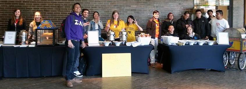 Student Org Charity Tables