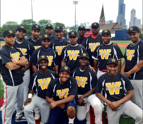 Jackie Robinson West team at Curtis Granderson Field