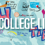 "illustration for ""14 College Life Tips"""