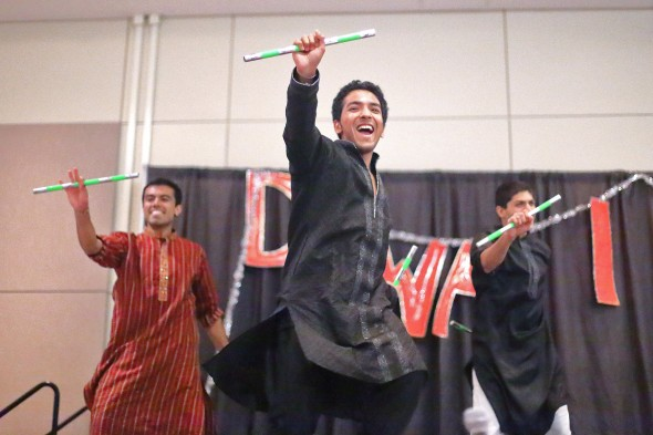 Dancers at Diwali Night