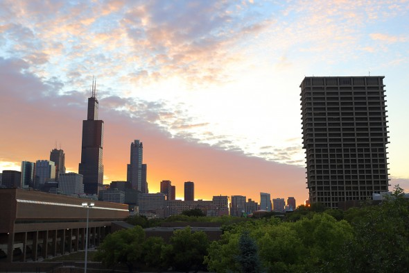 Chicago skyline - blog photos