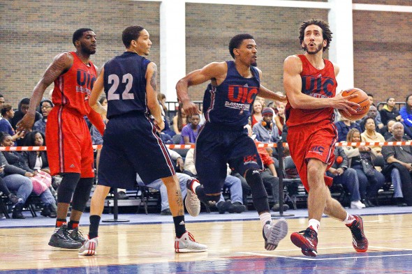 Men's Basketball - Red/Blue Scrimmage 2014