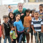 Dana Capocci and children from Honduras