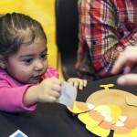 Thanksgiving party for pediatric cancer patients, sponsored by Children's Hospital University of Illinois
