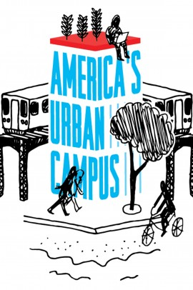 Logo for American's Urban Campus, a consortium of 17 Chicago nonprofit colleges and universities.