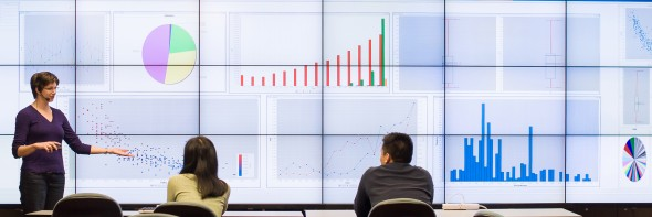 Cyber-commons classroom, Electronic Visualization Laboratory