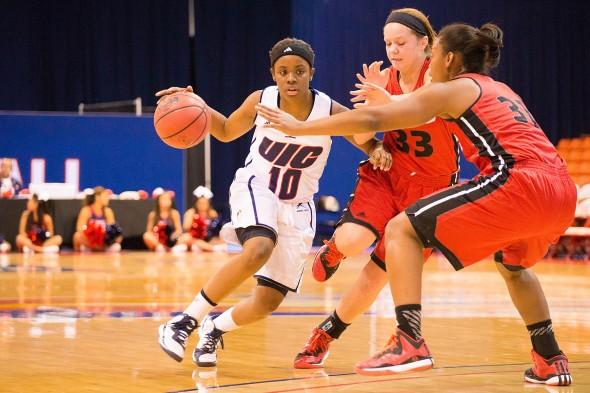 UIC Flames women's basketball vs SIU-Edwardsville at UIC Pavilion