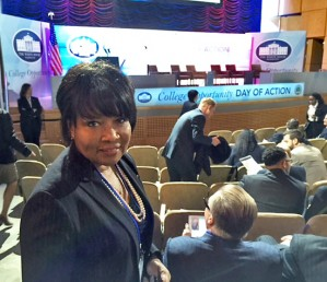 Chancellor Paula Allen-Meares at a White House event