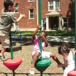children on a playground