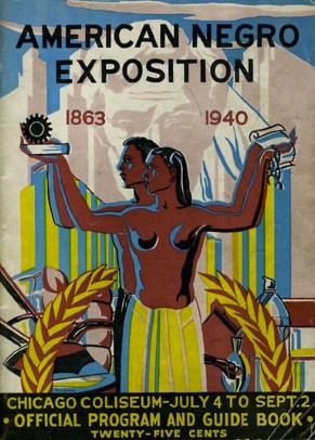 American Negro Exposition Catalogue Cover