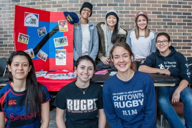 Women's Rugby Team student org