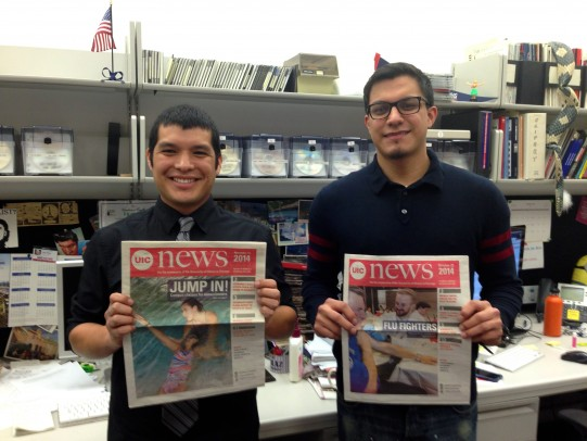 UIC News interns