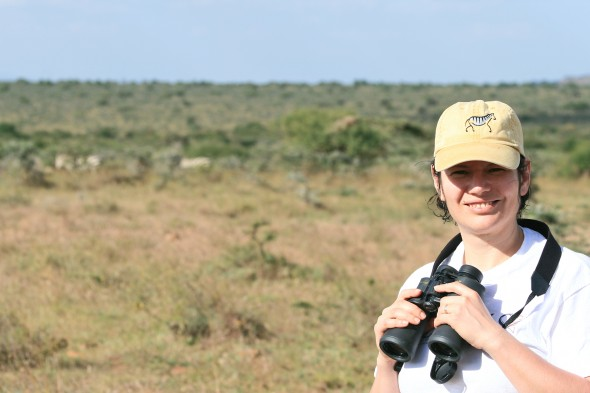 Tanya Berger-Wolf in Kenya