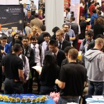 Students and alumni attend the Fall Diversity Career Fair at the UIC Pavilion /S.K. Vemmer