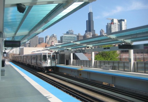 Morgan Station in Chicago.