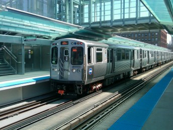 Chicago's Morgan Station (courtesy, Chicago Transit Authority).