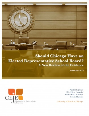 Cover of CEJE Report