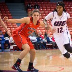Ruvanna Campbell vs Detroit, UIC Flames women's basketball, UIC Pavilion