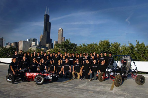 UIC Motorsports group photo
