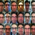 Daily shots of Dr. Craig Niederberger's facial hair growth progession