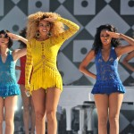 Beyonce Knowles performs on Good Morning America