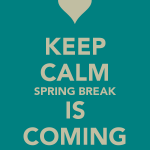 spring break blog
