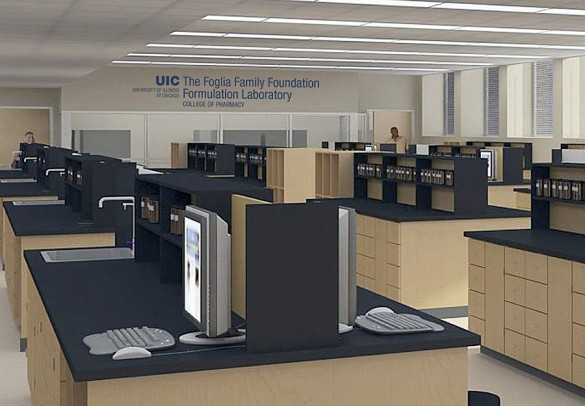 Pharmacy Formulation Lab Rendering