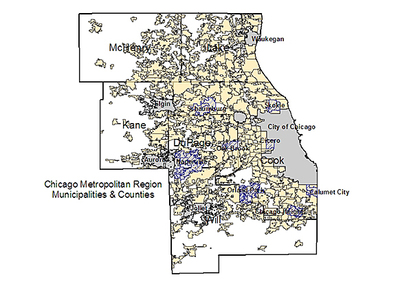 Chicagoland has most local governments of all U.S. metro areas | UIC ...
