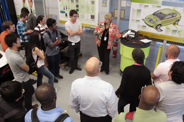 Argonne National Laboratory tour for the Summer Institute on Sustainability and Energy