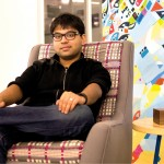 UIC alumnus Pavin Bapu developed the Gramovox, a Bluetooth-enabled gramophone.