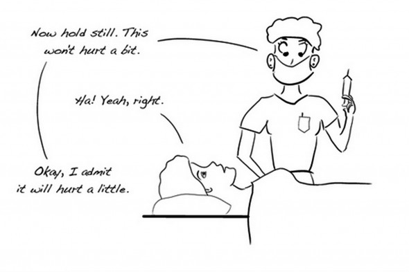 "A cartoon from ""Cancer Ninja,"" a blog by UIC oncologist Andrew Howard"