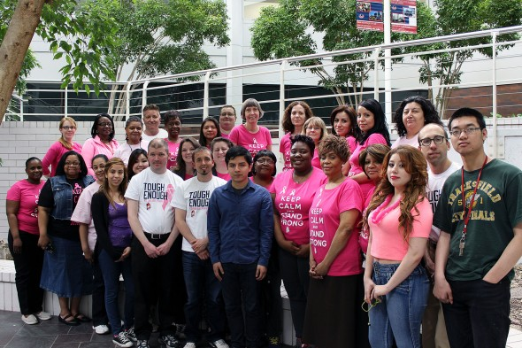 Breast Cancer Awareness (Maria Murillo & colleagues)