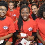UIC freshman students at Convocation