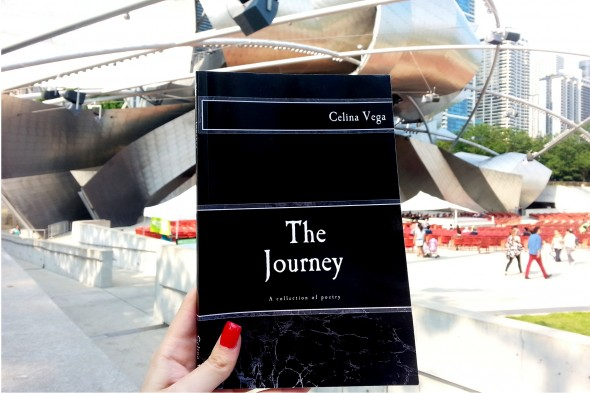 """""""The Journey,"""" self-published book of poetry by UIC student Celina Vega"""