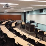 classrooms in Burnham Hall