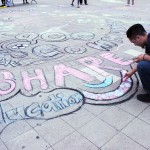 """chalk out"" what peace looks like"