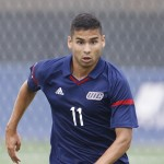 Men's soccer player Jorge Alvarez