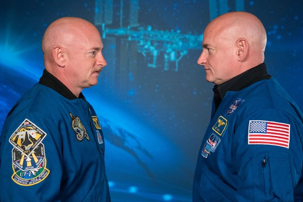 Mark and Scott Kelly