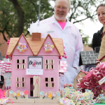 A diorama at UI Health's Breast Cancer Survivor Appreciation Day Oct. 2