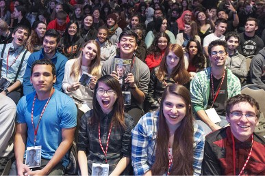 UIC students hear Bill Nye the Science Guy