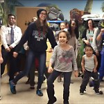 Dance-off at Children's Hospital University of Illinois