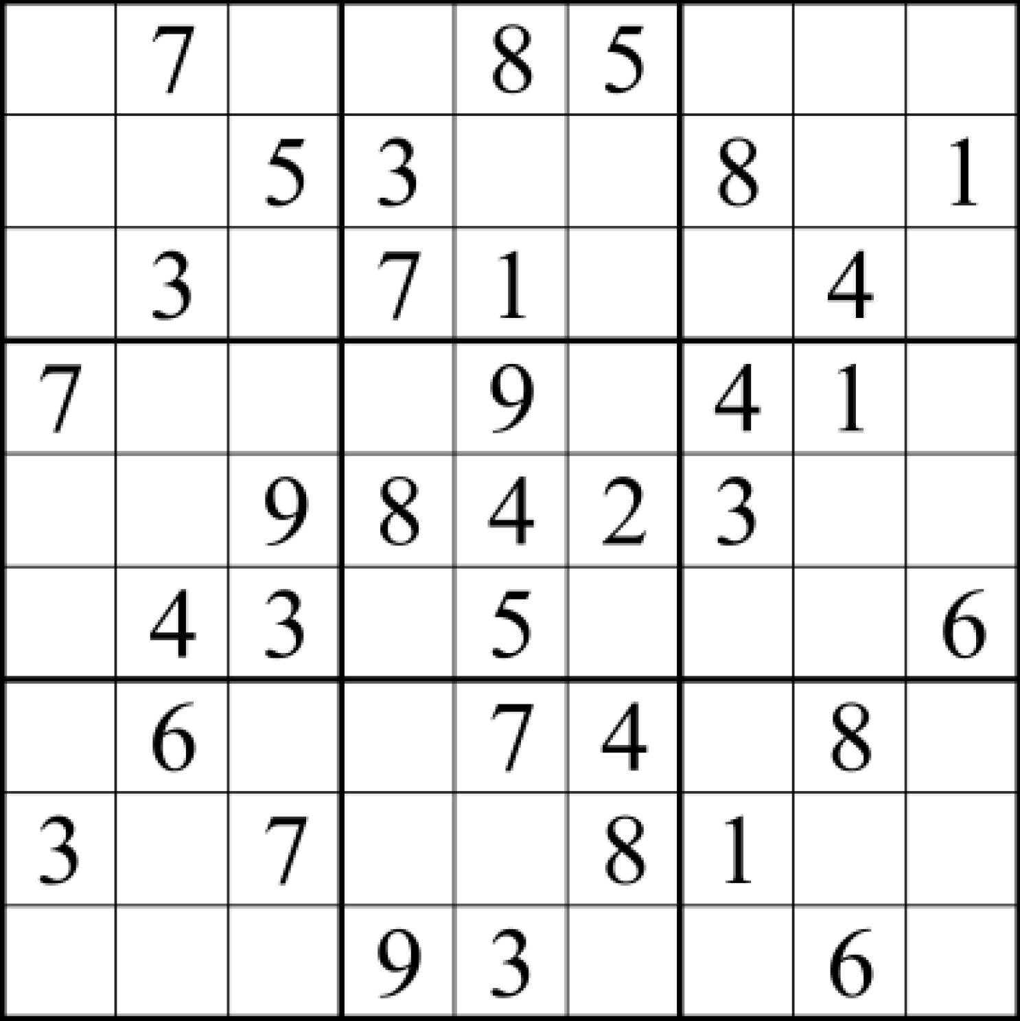Sudoku answers for Jan  13, 2016 | UIC Today