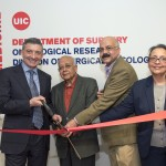 Oncological Research Labs ribbon cutting