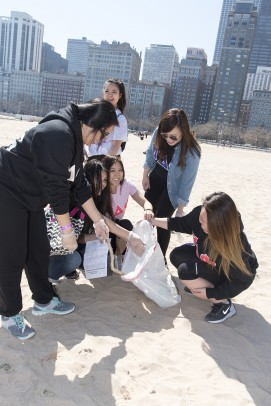 Day of Service 2016; beach cleanup