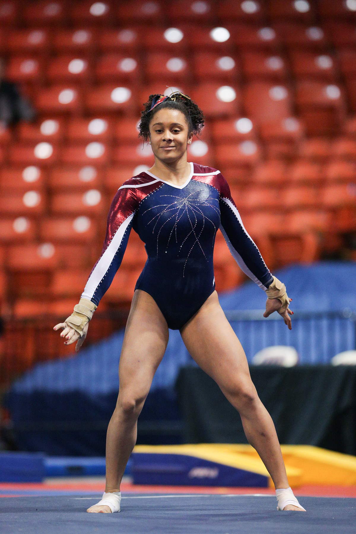 Gymnast Competes In Ncaa Regionals Uic Today
